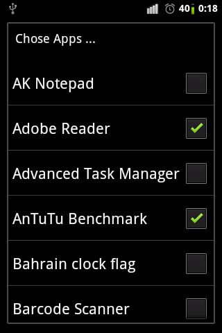 Bahrain flag clocks - screenshot