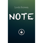 Lock Screen Note