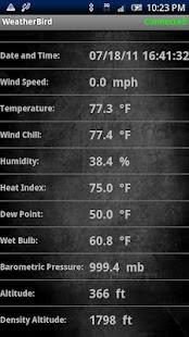 WeatherBird for Kestrel- screenshot thumbnail