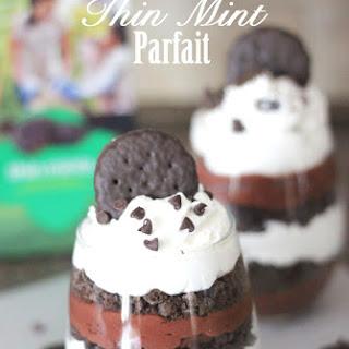 Triple Chocolate Thin Mint Parfaits.