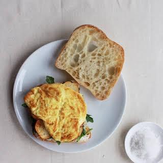Five-Ingredient Pimenton Potato & Egg Sandwich.