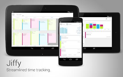 Jiffy - Time tracker Screenshot 1