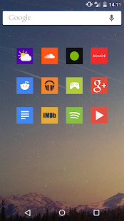 Square Icon Pack- screenshot thumbnail