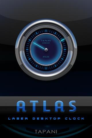 ATLAS STAR LASER CLOCK WIDGET