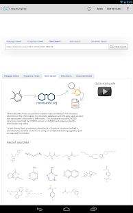 chemicalize - screenshot thumbnail