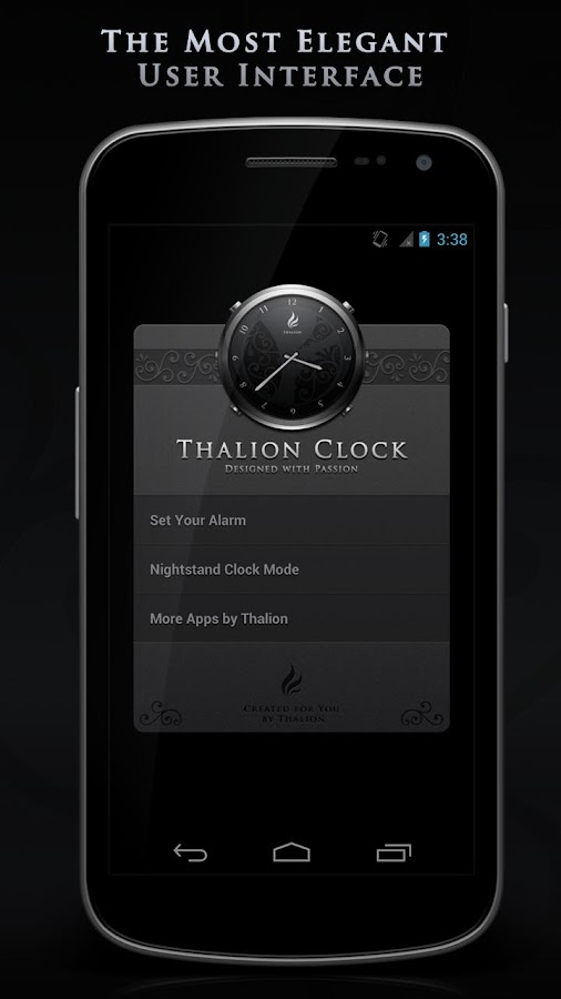 Thalion Clock- screenshot