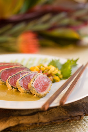 ahi-cuisine - Seared ahi tuna — try the real thing in Hawaii.