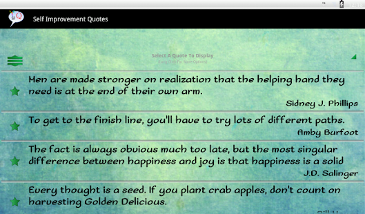 Self Improvement Quotes - screenshot thumbnail