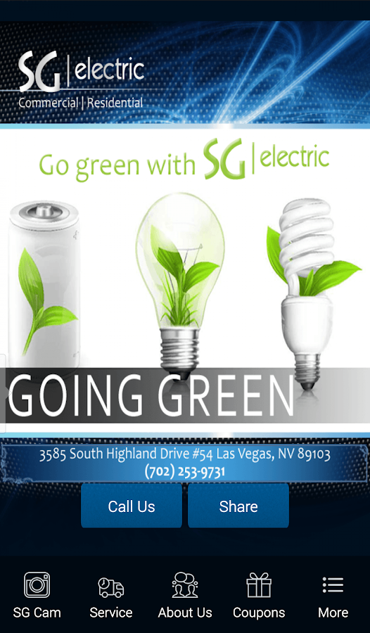 SG Electric Company- screenshot