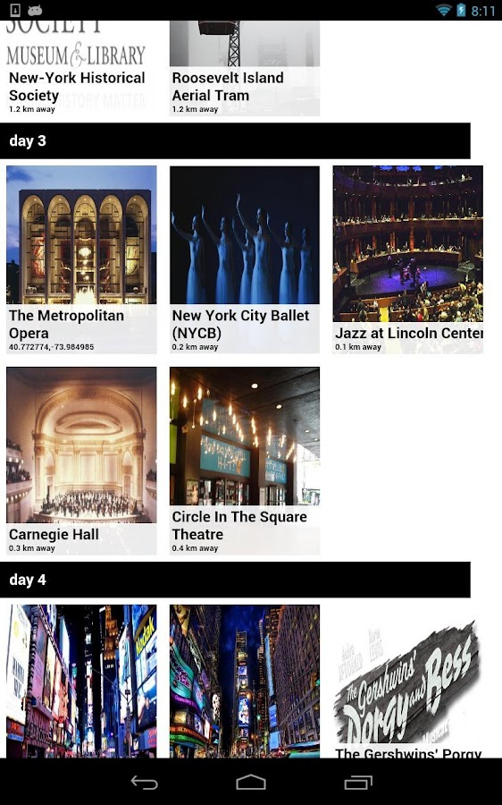 New York Offline Travel Guide - screenshot