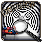 Delusion. Hidden objects