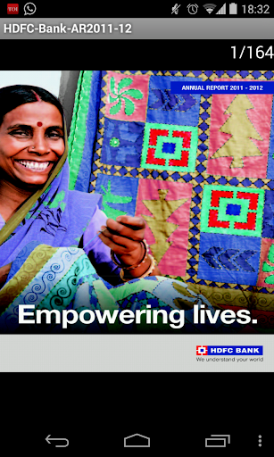 HDFCBANK ANNUAL REPORT 2011-12