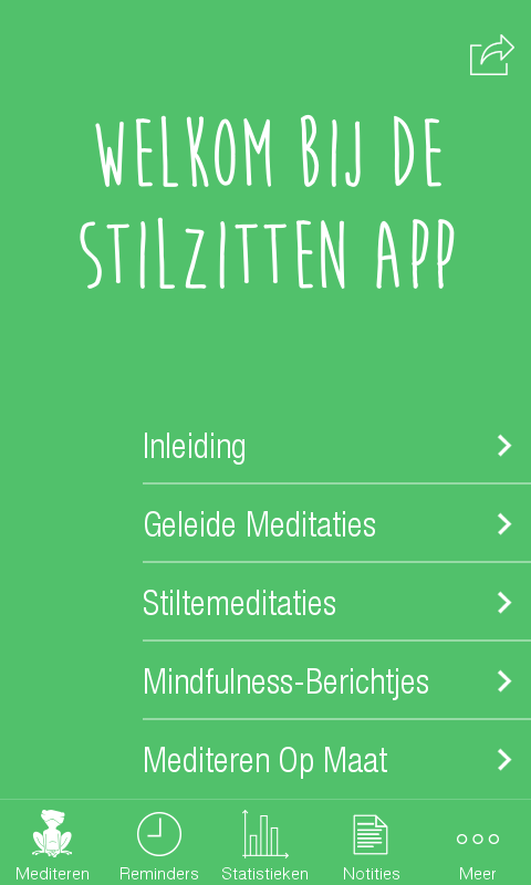 Stilzitten- screenshot