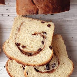Cinnamon-Raisin Bread.