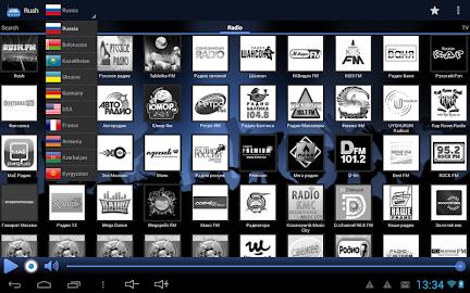 RUSH online radio and TV Screenshot 16