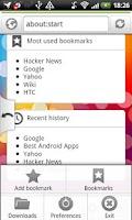 Screenshot of Internet Web Browser