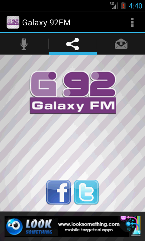 Galaxy 92FM - screenshot