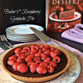 Baker's® Raspberry Ganache Pie