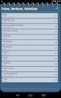Screenshot of My Shopping List