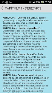 Constitución de Guatemala - screenshot thumbnail