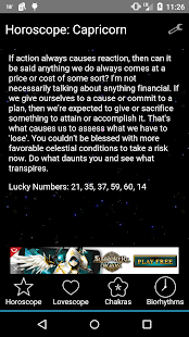 Horoscopes - screenshot thumbnail