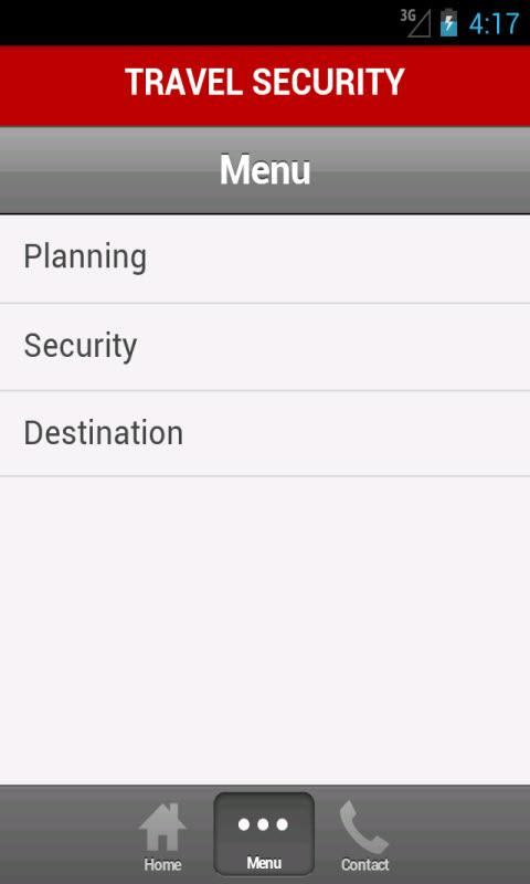 Travel Security - screenshot