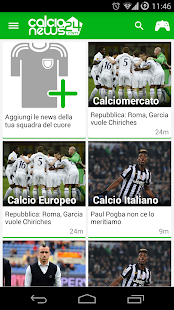 Calcionews24 screenshot