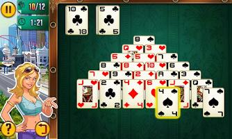 Screenshot of Platinum Solitaire 3