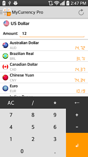 My Currency Pro - Converter