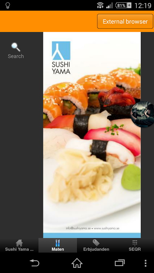 Sushi Yama Örebro- screenshot