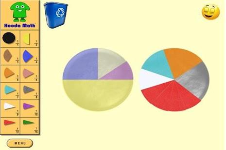 Fraction Circles: miniatura de captura de pantalla