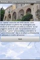 Screenshot of RotoApp - Guida Turistica