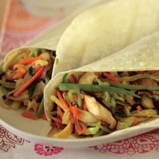 Vegetable Moo Shu Wraps