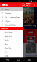 Screenshot of HLN.be Mobile