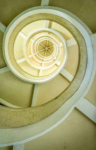 Spiral Stairs by Charles Ong - Abstract Patterns (  )