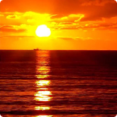 Sunset Ocean Live Wallpaper 3