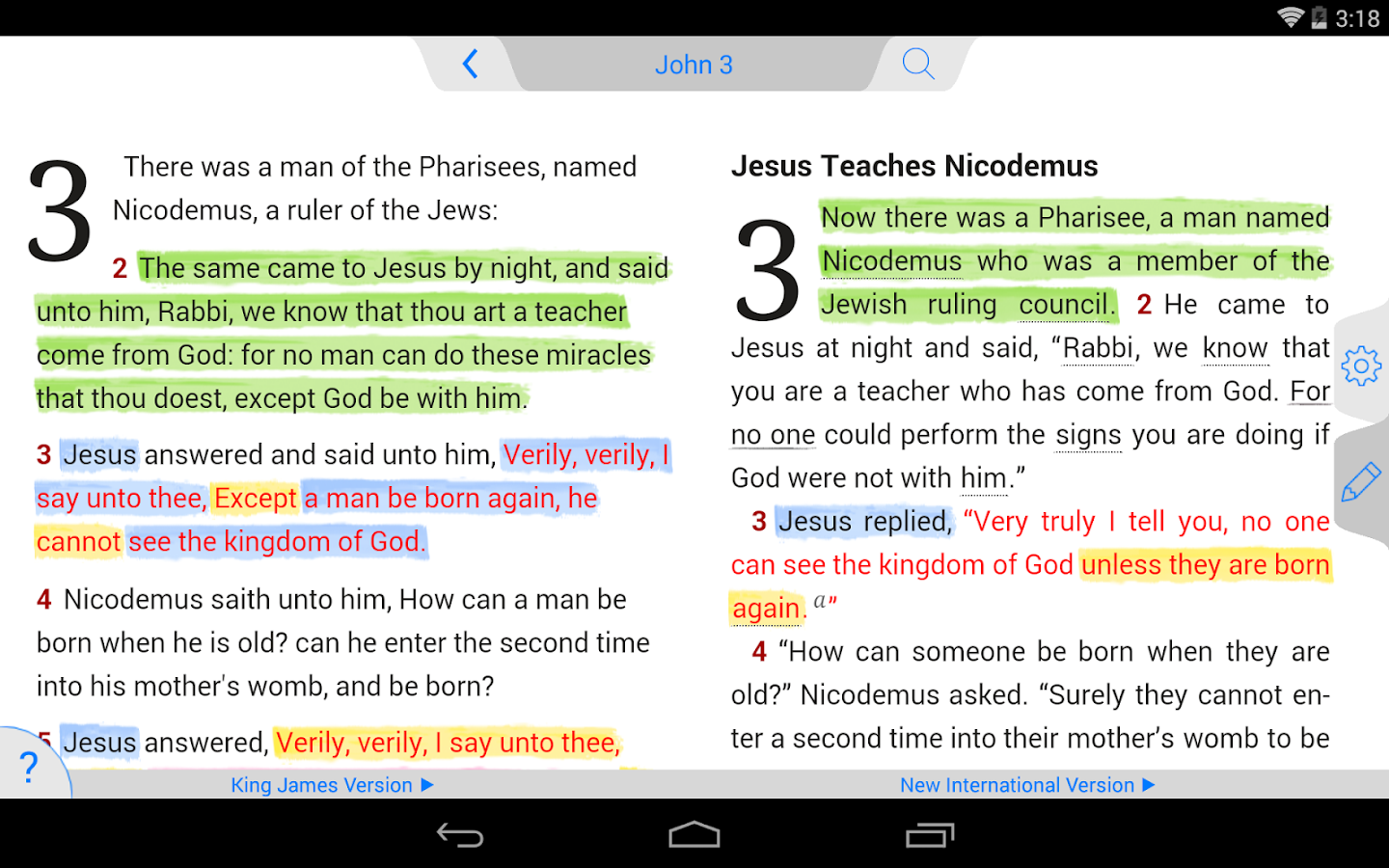 Phone Bibles For Android Phones tecarta bible android apps on google play screenshot