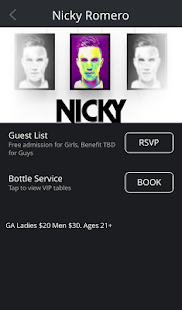 Discotech Nightlife App- screenshot thumbnail