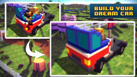 Blocky Roads Screenshot 4