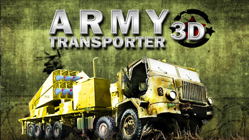 ARMY TRANSPORTER 3D