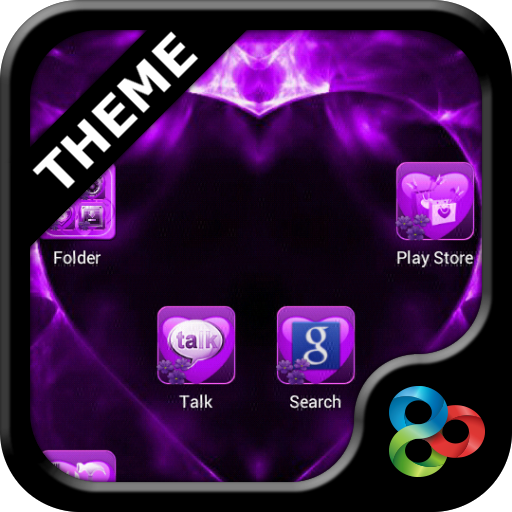 Valentine Purple GO Theme
