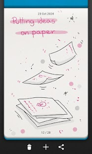 Bamboo Paper memo- screenshot thumbnail