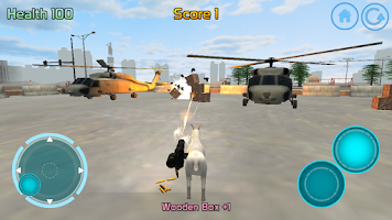 Screenshot of Goat Commando 3D