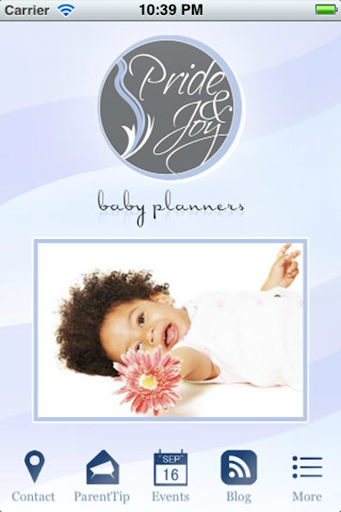 Pride and Joy Baby Planners