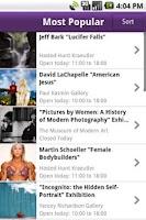 Screenshot of NY Art Beat