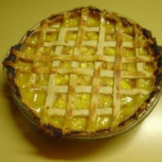 Fresh Pineapple Pie.