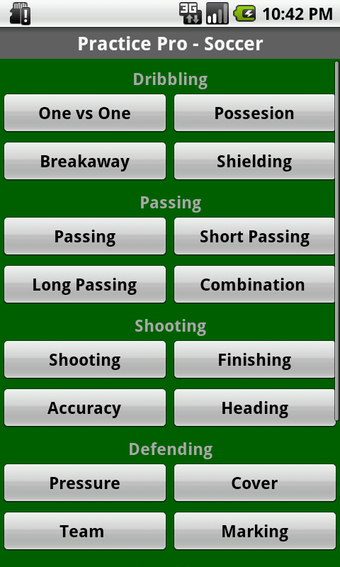 Soccer Coaching Plans U10-U14- screenshot