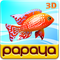 Papaya Fish 3D icon