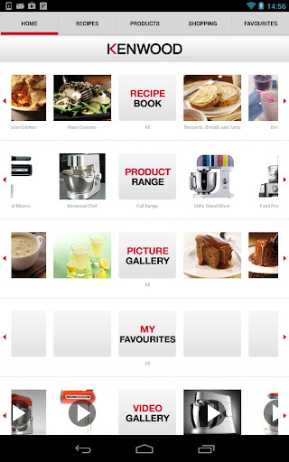 Kenwood Kitchen Recipe App