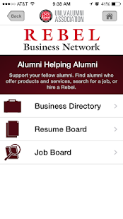 UNLV Alumni- screenshot thumbnail